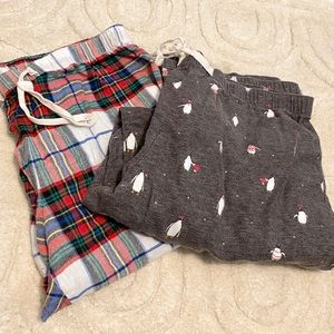 Gap pajama pants - 2 pairs of pants